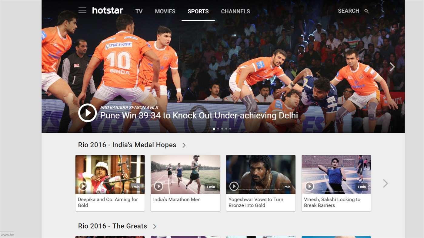 Hotstar TV