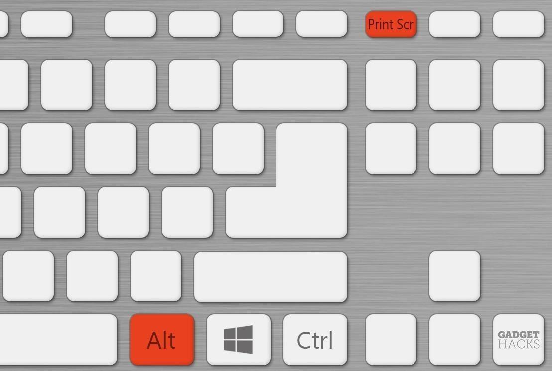 Alt + Print Screen